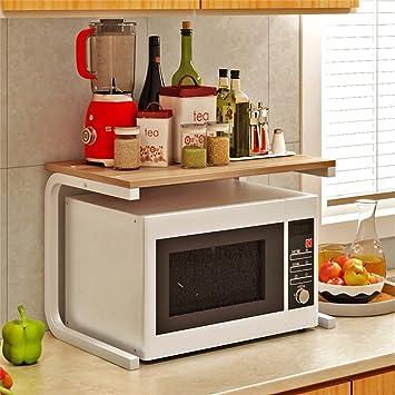 Küchenregal Mikrowellenherd Küchenutensilien Regal Aufbewahrungsbox ...