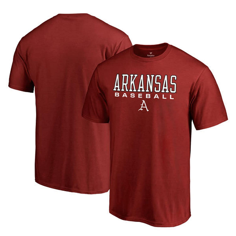 FanaticsブランドArkansas Razorbacks Big & Tall Trueスポーツ野球Tシャツ – スカーレット B07CL4K6CD  5XL