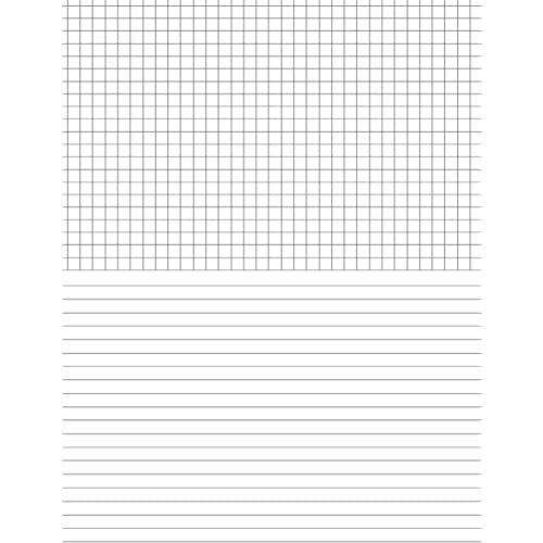 Small French-Ruled Seyes Notebook Compositions