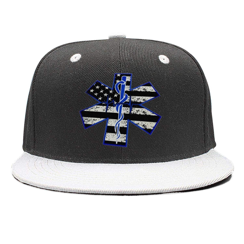 LIXG Mens EMT-Funny-Decal-EMT-Response Trucker Hat Baseball Caps Camo Meshback Snapback