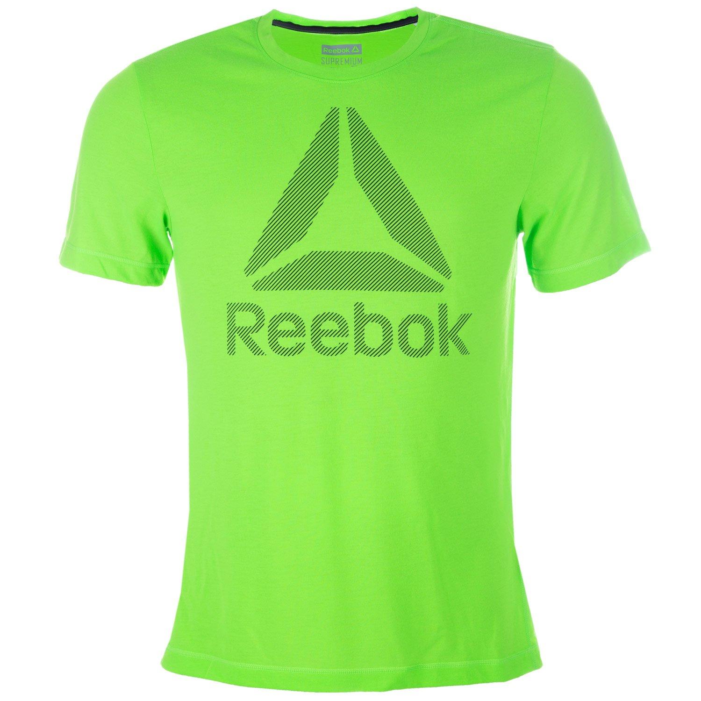 Reebok WOR BL SUP TEE-Maglietta da uomo