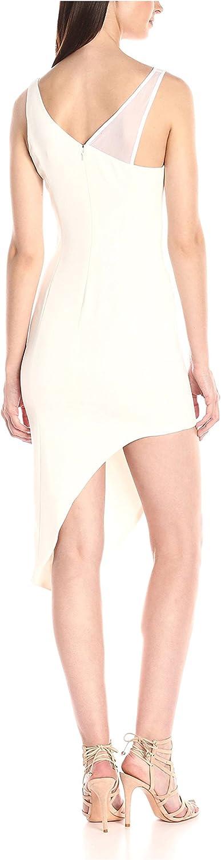 Jay Godfrey Womens Buckingham Curved Hem Midi Dress