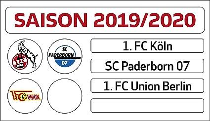 Dfl Deutsche Fussball Liga 1 Bundesliga Magnettabelle Update Set Saison 2019 2020