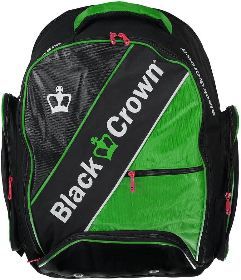 Mochila padel Black Crown Sack (Verde): Amazon.es: Deportes y aire ...