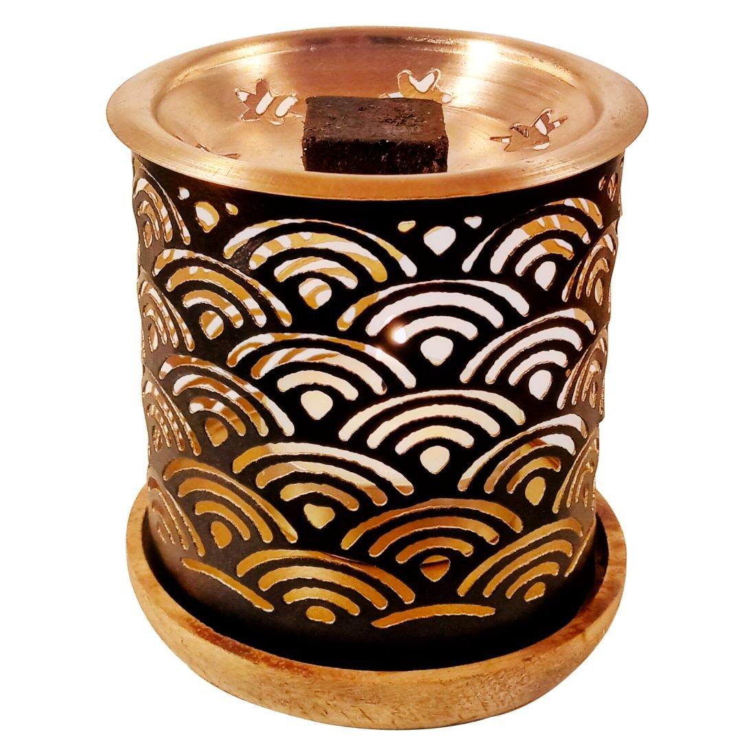 Dukhni Oud Bakhoor Incense Variety Box & Rainbow Bakhoor Burner - Gift Set & Starter Kit by Dukhni (Image #5)