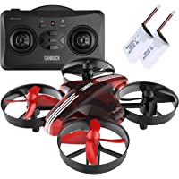 SANROCK Mini Drone GD65A Best for Kids and Beginners RC Helicopter Plane with Altitude Hold,Headless Mode,Return Home Function,RTF 4 Channel 2.4Ghz 6-Gyro Remote Control