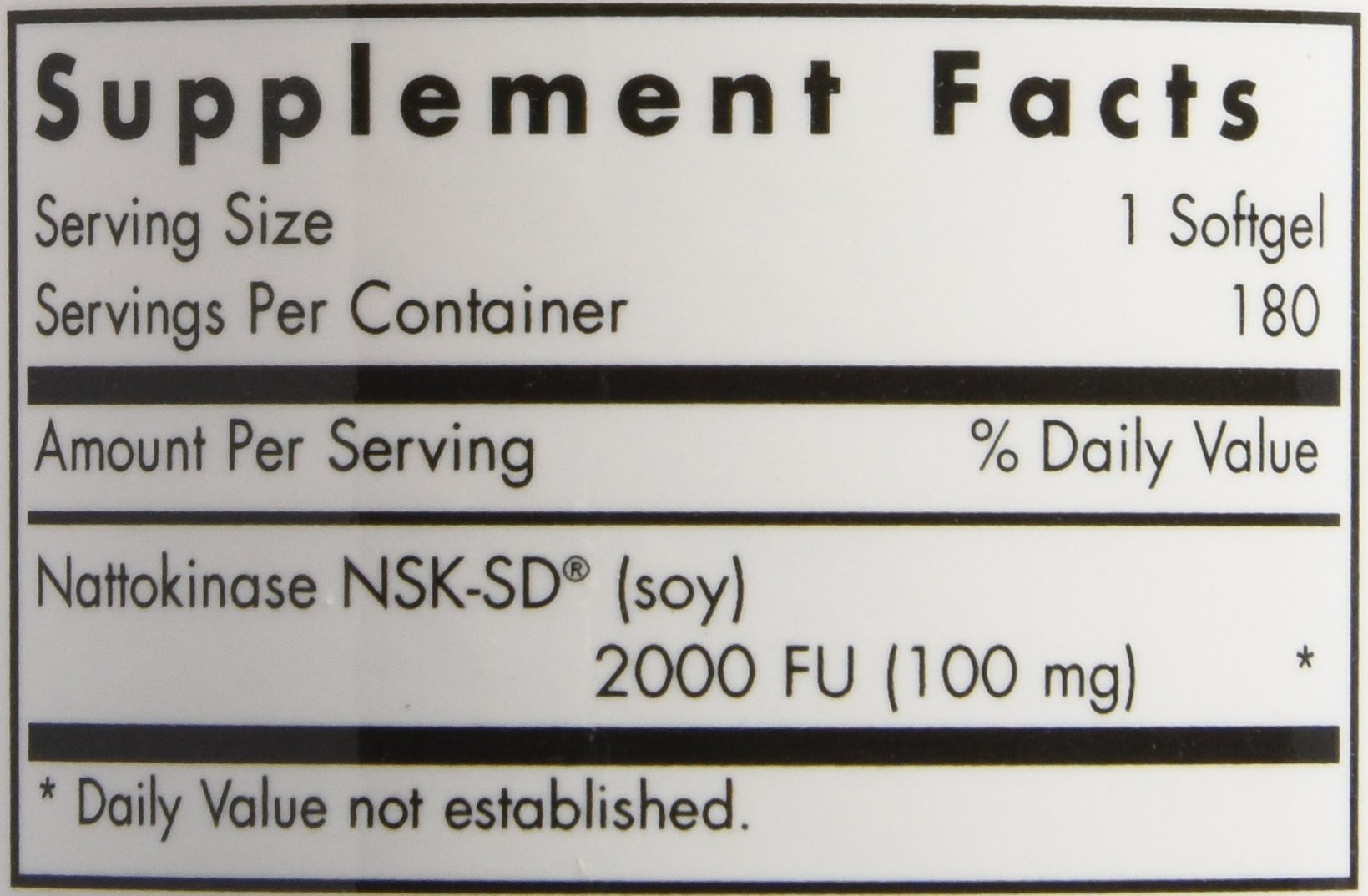 Allergy Research Group Nattokinase -- 100 mg - 180 Softgels by Allergy Research Group (Image #2)