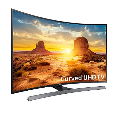 Samsung UN55KU6600 Curved 55-Inch 4K Ultra HD Smart LED TV