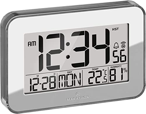 Marathon Designer Atomic Wall Clock