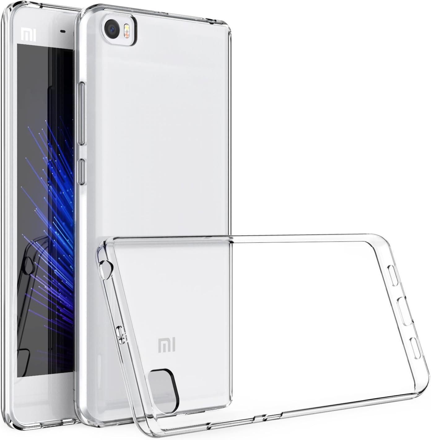 HanLuckyStars Funda Xiaomi Mi5, Carcasa Xiaomi Mi5 Case TPU ...