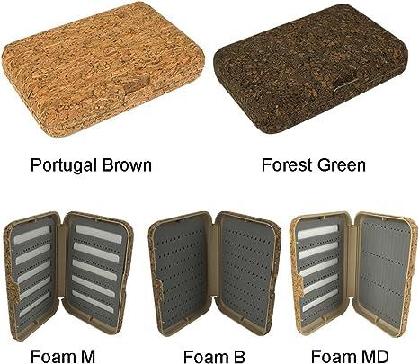 aventik Portugal cajas para moscas naturaleza corcho laminado ...