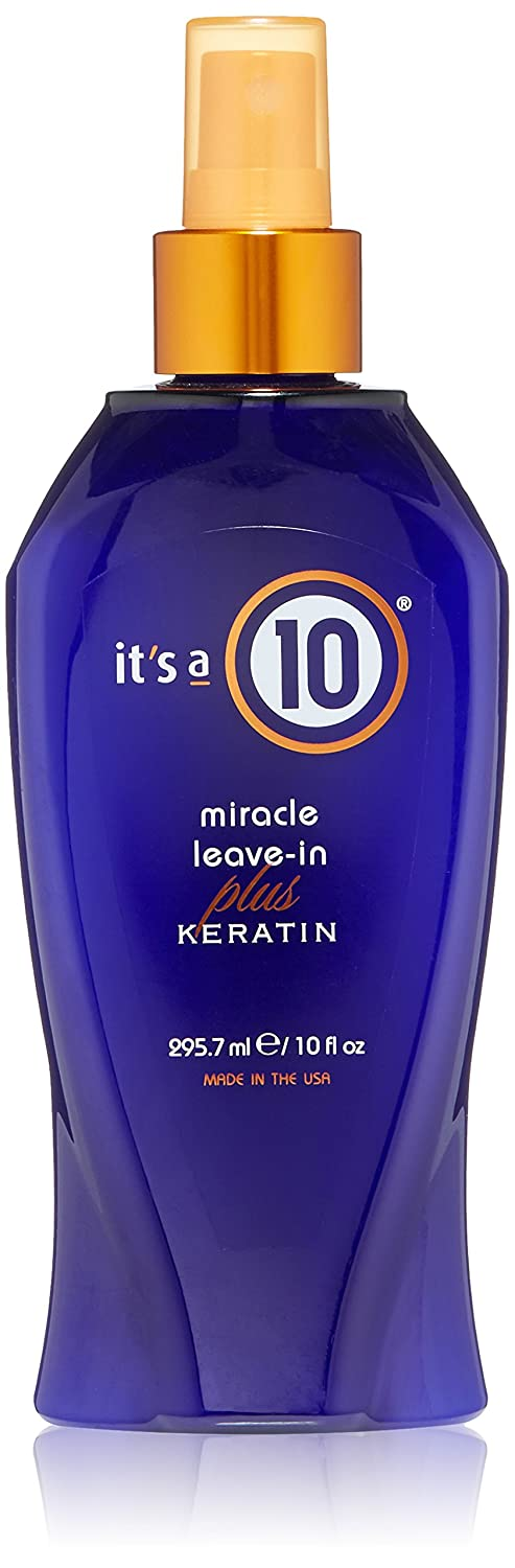 It's a 10 miracle leave -in Plus Keratin 10oz ITS A 10 887128955579