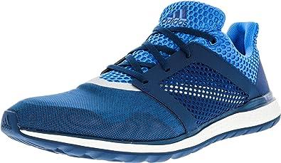 adidas Energy Bounce 2.0 Mens Running Shoe 9.5 Shock Blue-Silver  Metallic-Tech Steel