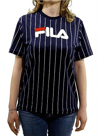 Fila Tux T-Shirt Damen Blau S: Amazon.de: Bekleidung
