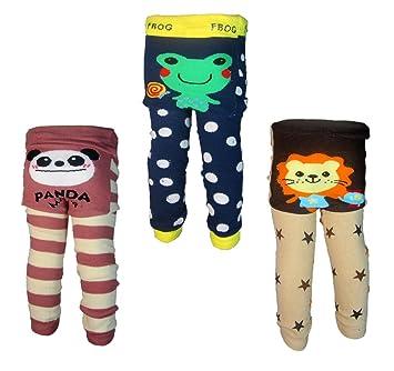 3 Pants 0-24 Months Baby Boys Toddler Leggings trousers Knitted pants K3K4K5