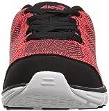 Avia Boys' Avi-Rift Sneaker, red Heather/Black, 5
