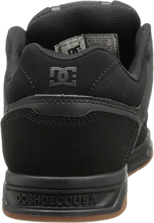 46 EU DC Herren Stag Sneaker Schwarz//Gum