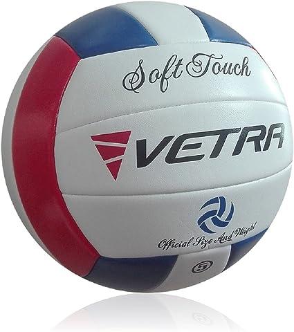 VETRA Voleibol Toque Suave Volley Bola Funcionario Tamaño 5 al ...