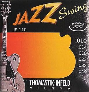 JS110 E-Saiten 10-44 Jazz Swing Flat Wound Thomastik