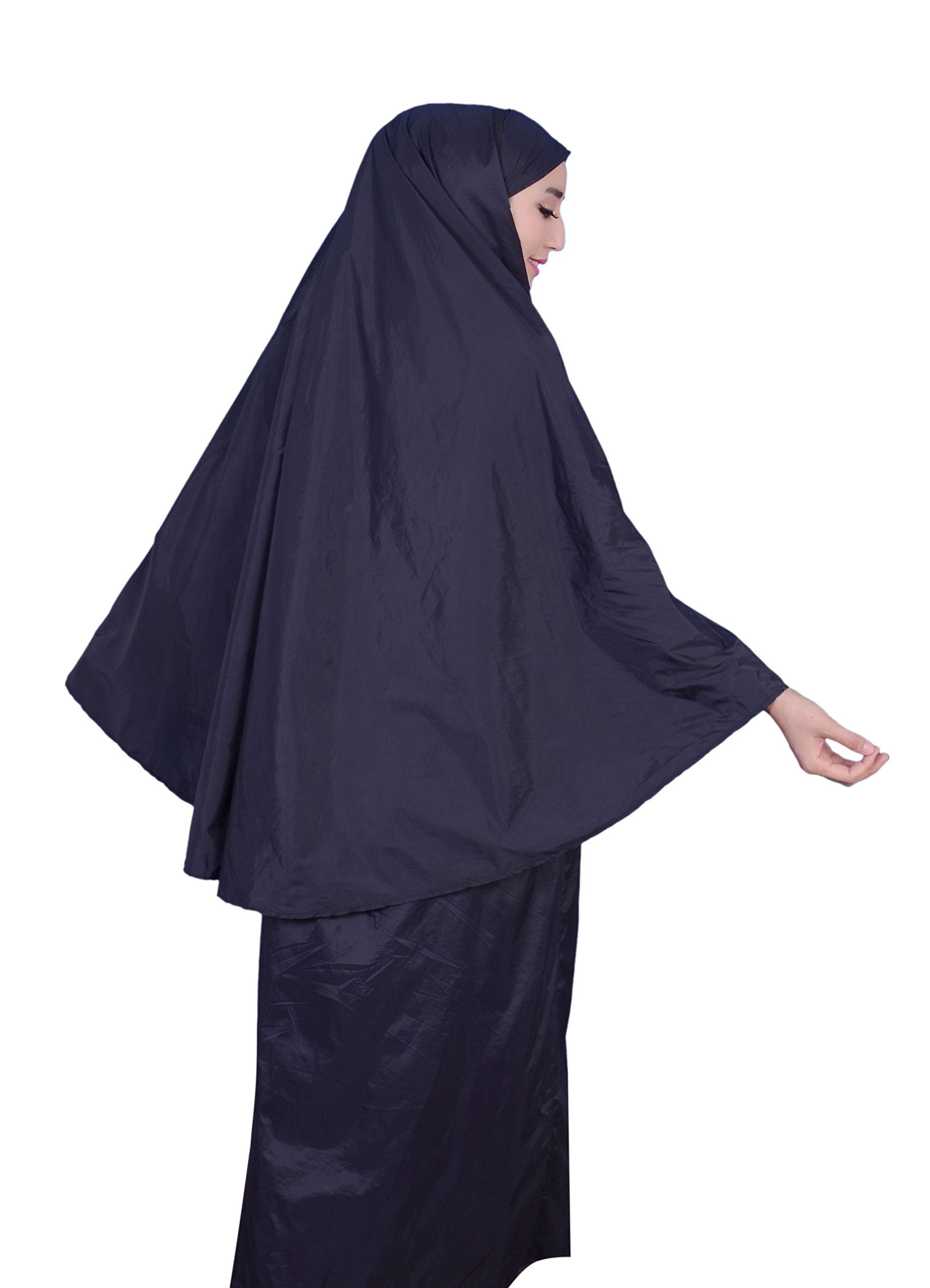 Muslim Women's Prayer Dress Pocket-Size Hijab Scarf Skirt Islamic Abaya by AJAR by Ajar (Image #5)