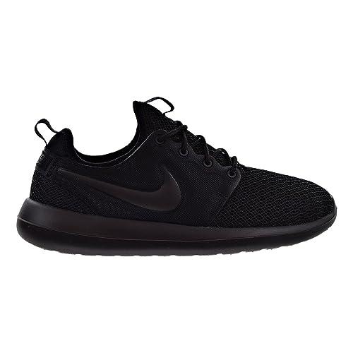 cheaper 31cce 763d7 Nike Women's Roshe Two Casual Shoe Black/Black/Black: Amazon ...