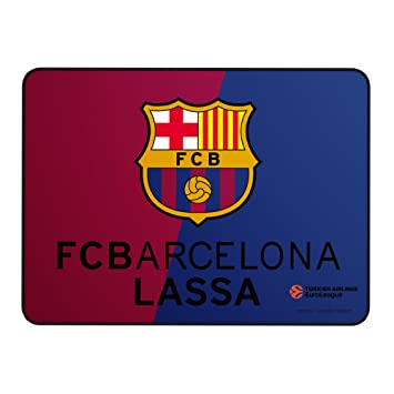 Alfombrilla FC Barcelona Lassa para PC - (BCN,Superficie de Tela Avanzada,Base