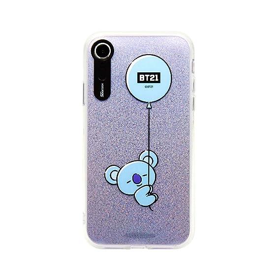 timeless design f877c c729c iPhone XR Case, BTS BT21 Official Light Up Phone Case-Hang Out (KOYA)