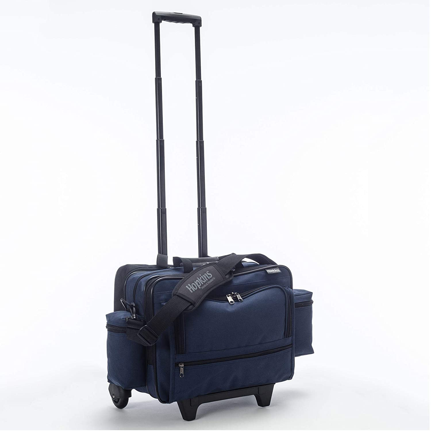 Nursing Bags On Wheels >> Hopkins Medical Rolling Med Bag With Ez View Features
