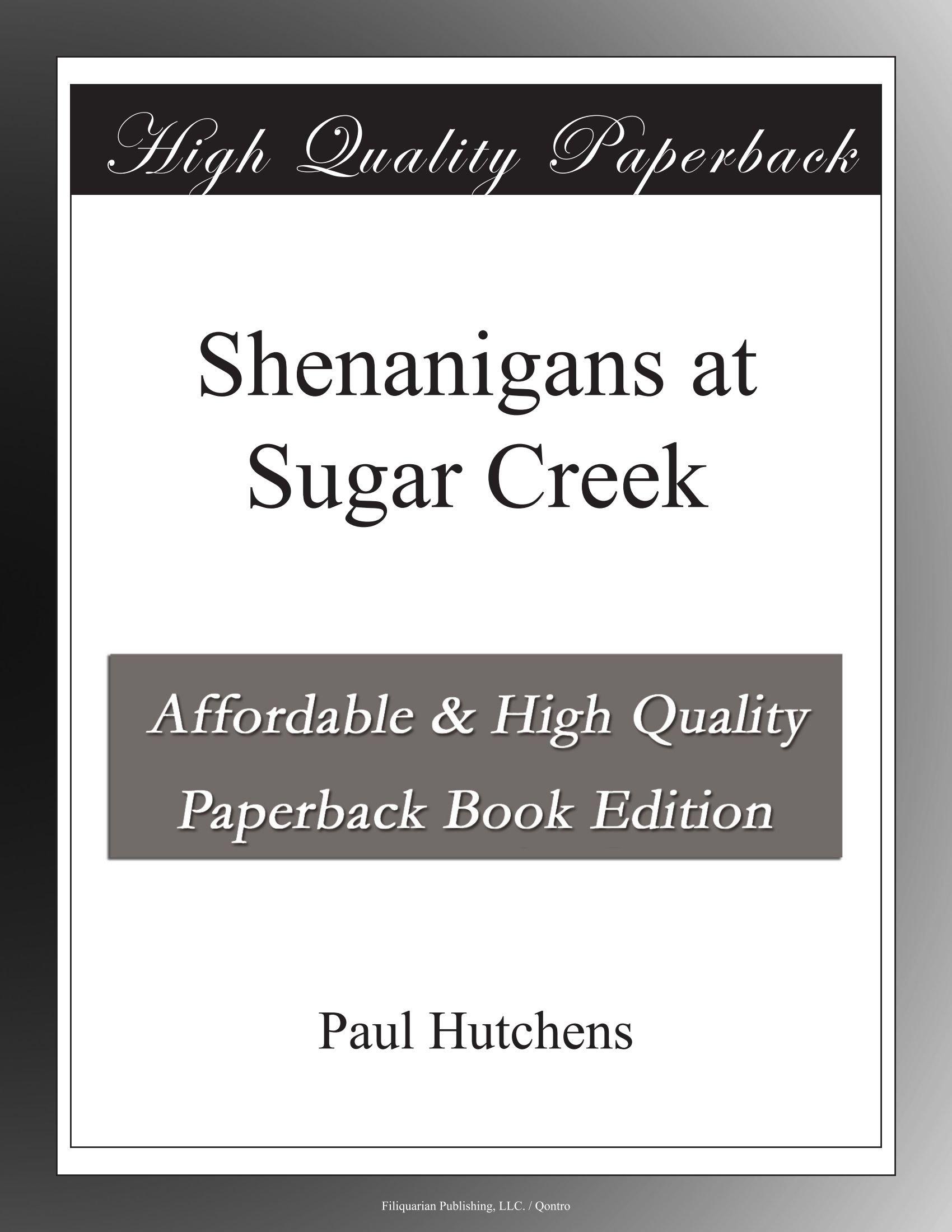Download Shenanigans at Sugar Creek pdf epub