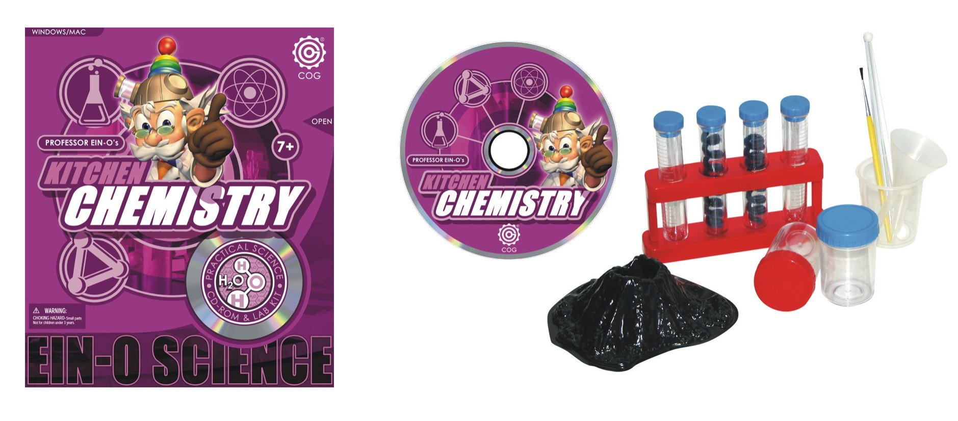 Ein-O Science Kitchen Chemistry  Practical Science CD -Rom and Labs Kit