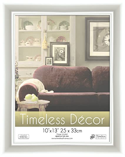 Amazon.com - Timeless Frames 10x13 Inch Boca Picture Frame, White ...