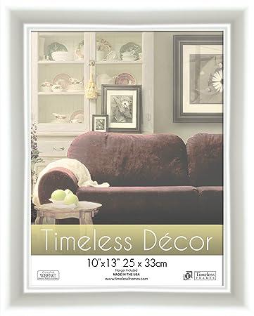 timeless frames 10x13 inch boca picture frame white