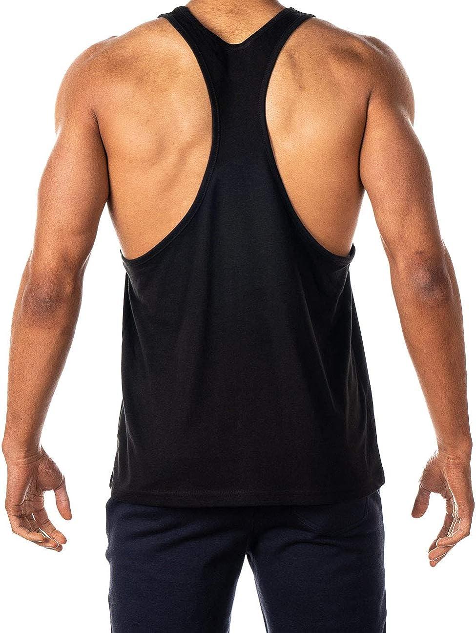 Raise The Bar Stringer Bodybuilding Muscle Vest Tank Top Gym GYMTIER Mens