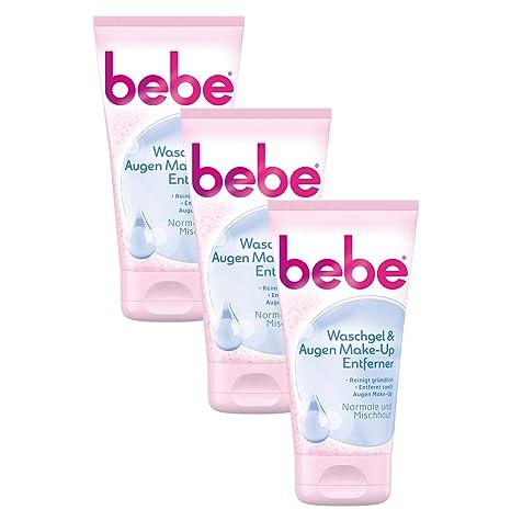 Bebe waschgel & Ojos de Make Up Extractor/Suave Limpieza Facial Para Piel Normal a