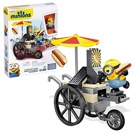 Mi Villano Favorito 2 - Minions Mega Bloks Construcción Set Vuelo Hot Dogs