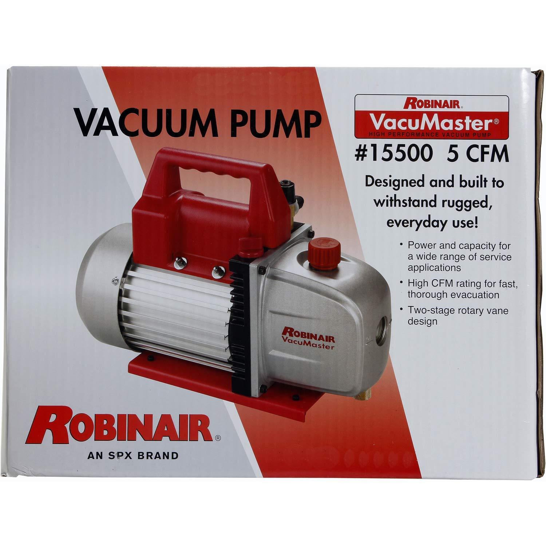 Robinair (15500) VacuMaster Economy Vacuum Pump - 2-Stage, 5 CFM by Robinair (Image #3)