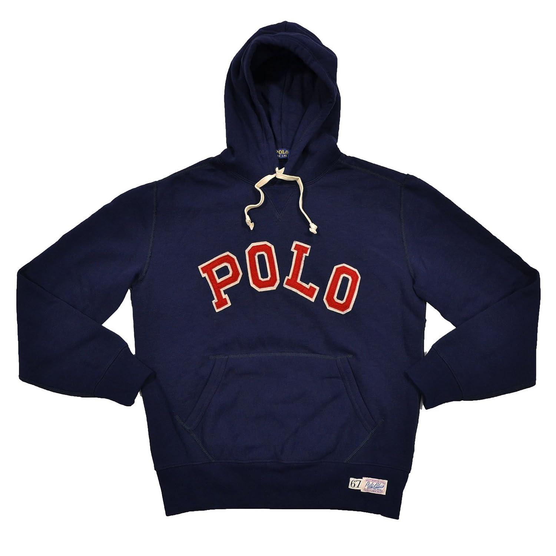 Polo Ralph Lauren Full Zip Fleece Hoodie Red 2XL NWT
