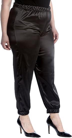 New Ladies Plus Size Jeans Womens Black Trousers Straight Leg Pockets Nouvelle