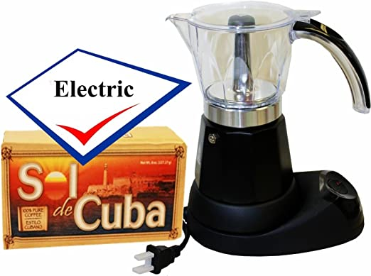 Amazon.com: Bene Casa Electric cubano Cafetera eléctrica ...