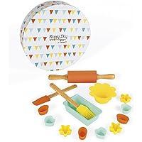Janod-J06583 Set de pastelería Happy Day, Multicolor (J06583)