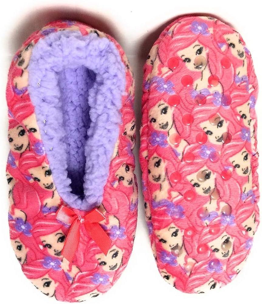 Little Mermaid Ariel Slippers Socks