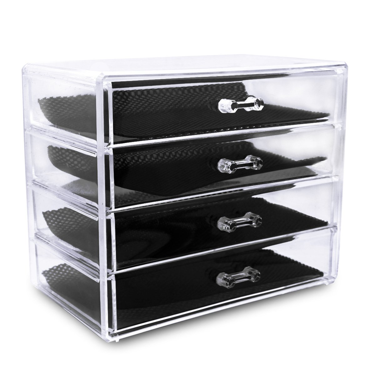 Acrylic Makeup Organizer With Drawers Mugeek Vidalondon