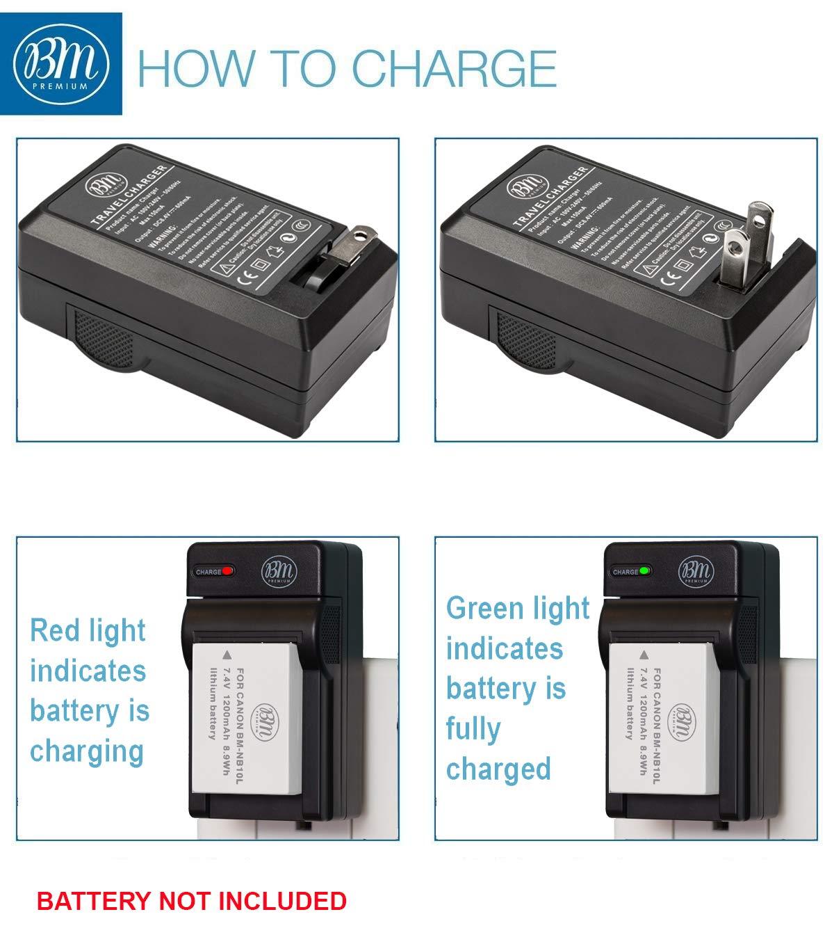 Camera, Photo & Video G1 X G16 BM Premium NB10L Battery Charger ...