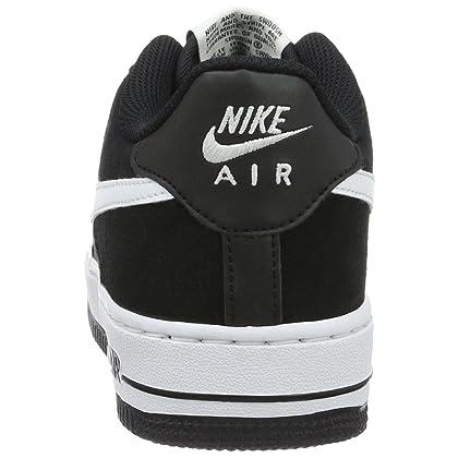 sale retailer 4c920 a4abc ... NIKE Youth Air Force 1 (GS) Boys Basketball Shoes BlackWhite 596728-  ...
