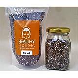 Healthy Buddha Organic Chia Seeds Black (100GR)