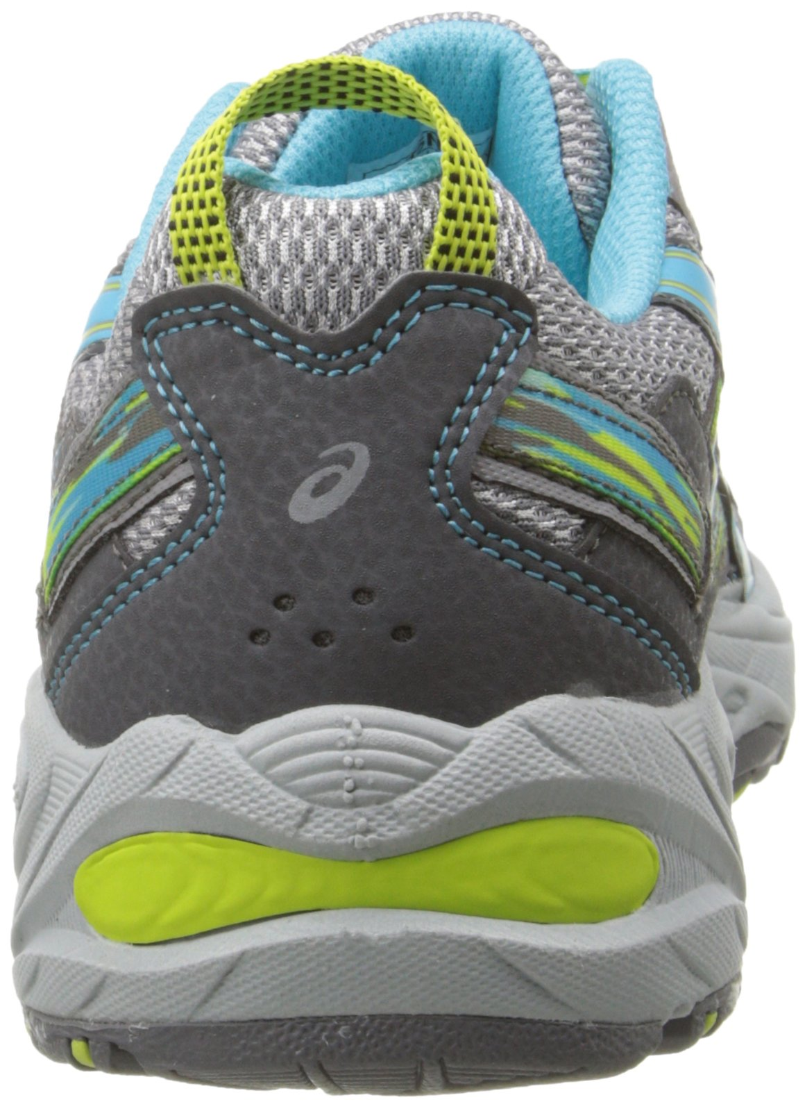 ASICS Women's Gel-Venture 5 Running Shoe, Silver Grey/Turquoise/Lime Punch, 6 M US by ASICS (Image #2)