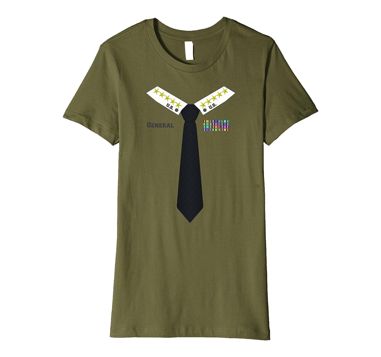 Military General Halloween Costume Premium T-shirt - Men Women Youth