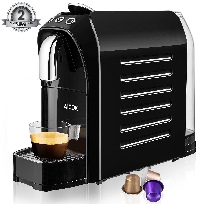 Cafetera cápsulas Aicok compatible con Nespresso