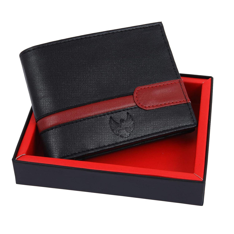 Fur Jaden Black RFID Blocking Leather Men's Wallet