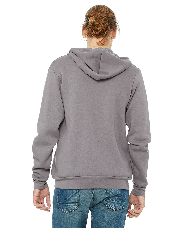 A Product of Bella Canvas Unisex Poly-Cotton Fleece Full-Zip Hoodie Bulk Dis